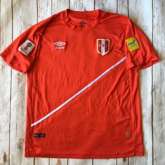 new product d6520 87442 Umbro Peru National Team XL soccer jersey